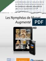 """""""Les Nymphéas de Monet - Augmenté"""" optimisé pour mobiles"""