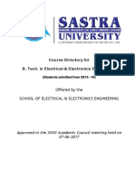 32.20 ACM Approved 207 Credits B.tech EEE Syllabus v-VII Sem