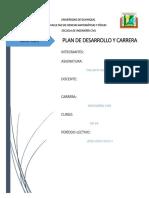 Plan de Carrera y Desarrollo