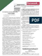 Reglamento de la Ley N° 30884 (Peruweek.pe)