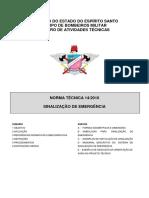 22 - NT 14-2010 Sinalização de Emergência.pdf