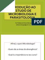 Introdução Estudo Microbiologia e Parasitologi