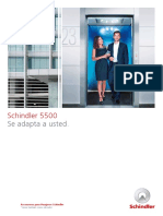 Schindler 5500 Producto