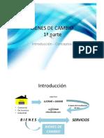 Bienes de Cambio 2019 - 1ra. Parte