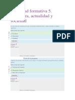 Actividad Formativa 5. Literatura, Actualidad y Sociedad