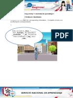 Evidence_Identities - ACTIVITY 1