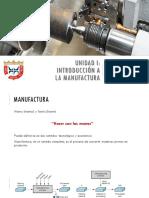 Unidad i Introduccion a La Manufactura