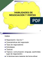 Octubre - Habilidades de Negociacion y Ventas