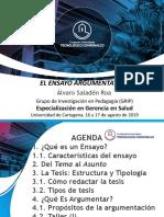 Ensayo Argumentativo Liz Urango-Álvaro Saladén (22 Feb. 2019)