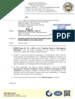 19-07-86. Kindergarten Revised Philippine Early Childhood Development (Ecd) Checklist