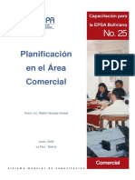 PLANIFICACION EN EL AREA COMERCIAL