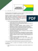 Contrato Pedagogico Ie Palmira 2016