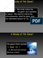 A Study of He Gave.ppt