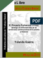 GUERRA Yolanda - El proyecto profesional crítico estrategia de enfrentamiento de las condiciones.pdf