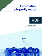 081030 JUMO HighPurityWater