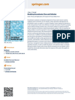 Modelling Groundwater Flow and Pollution