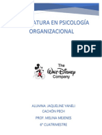 Ensayo Modelo Disney