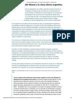 El Informe Bialét-Massé y La Clase Obrera Argentina - El Historiador