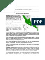 Área Geográfica Andina y Mesoamericana