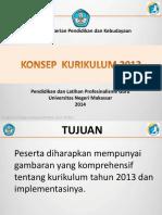 Konsep Kurikulum 2013