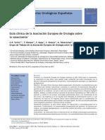 Dohle G Et Al Actas Urol Esp 2012 365276 Cuia Clinica de La Asociacion Europea de Urologia Sobre La Vasectomia