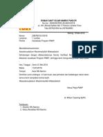 Undangan Sosialisasi Program PMKP