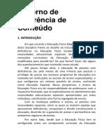 Caderno de Referência - Educação Física Adaptada