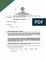 Precedence Form 1B