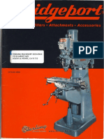 Bridgeport Milling Machine Brochure