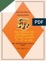 Bruno - Bateria pruebas de evaluacion 1° a 8° EB (Andaur Zamora, Rodolfo (editor))