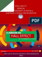 Hall- Project Seminar