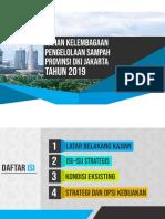 Kelembagaan Pengelolaan Sampah DKI Jakarta