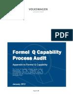 Formel Q Capability Process Audit
