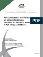 adecuacion del tratamiento de la depresion mayor