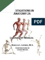 Anatomy 2A Lab Manual 2016-2017