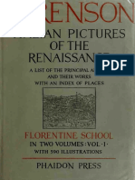 Italian Pictures of the Renaissance vol1