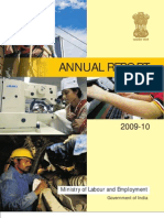Indian Ministry of Labour Annual Report 2009-10 English