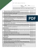 DSM 5 ADHD Symptom Checklist