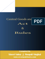 Interative-CGST Act and Rules