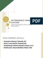 41757754 Attendance Management System