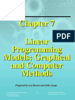 Manajemen Kuantitatif - Program Linier