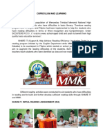 Reading Program - WTMNHS
