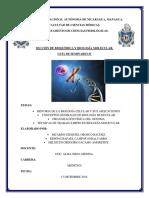 Biologia molecular Seminario 1