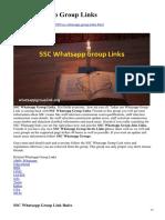 Whatsappgrouplink.org-SSC Whatsapp Group Links
