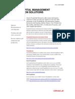 Hcm Information Solution Data Sheet