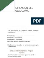 Clasificacion Del Glaucoma