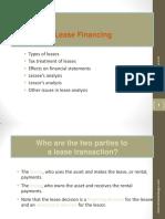 04 Lease Financing Model