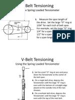 Tension v.belt