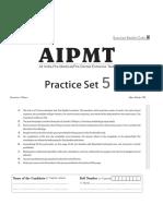 Arihant-NEET Practiceset 5.