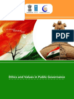 Reading Material Ethics and Values in Public Governance